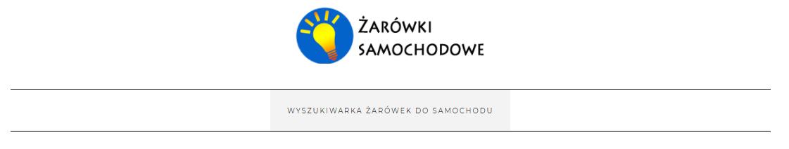 Wyszukiwarka żarówek online - zarowkadoauta.pl